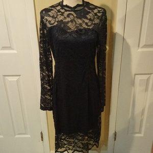 NWT Mock Neck Laced 🚺 Dress